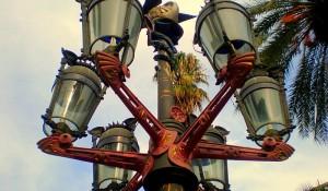 Lampposts in Plaça Reial