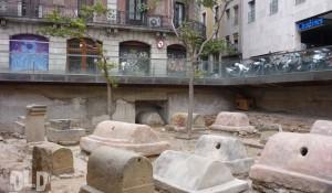 MUHBA Via sepulcral romana