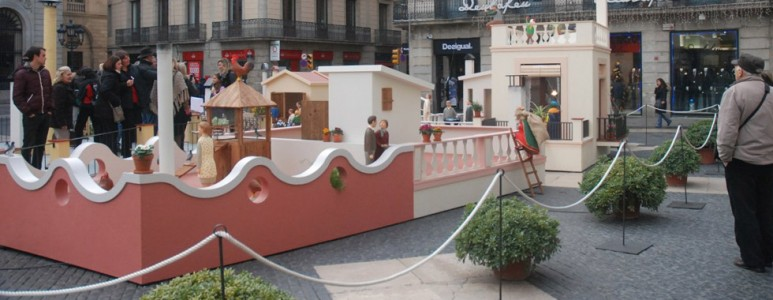 Christmas Nativities in Barcelona